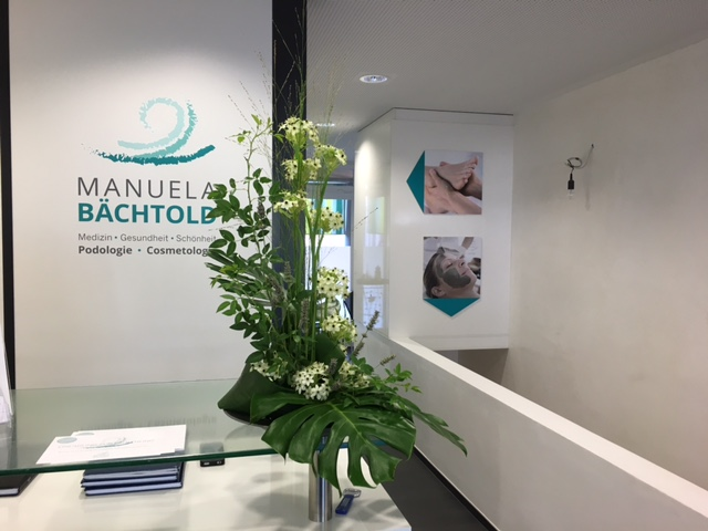 Opening of the Practice for Podiatry and Cosmetology Manuela Bächtold
