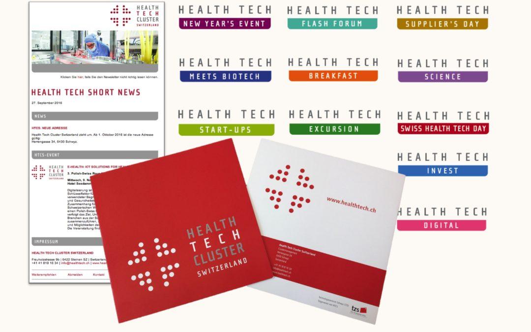 Health Tech Cluster Switzerland erweitert sein Branding
