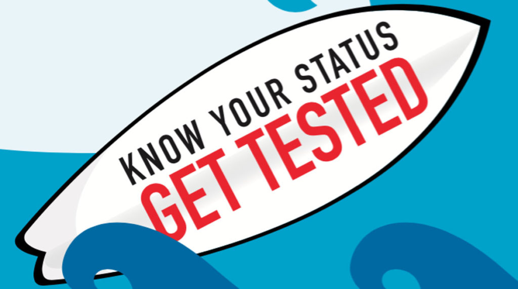pride ouest - Know Your Status - Get Tested