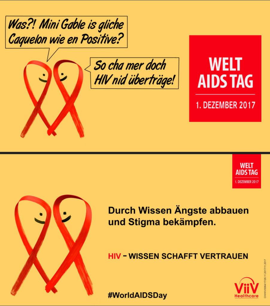 Vorschau Lichtprojektion Welt-Aids-Tag 2017