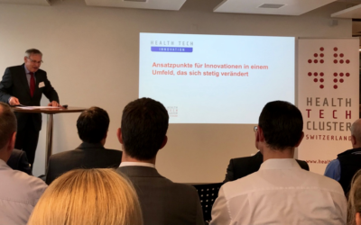 Cluster-Anlass zum Thema Innovation im Health Tech Sektor