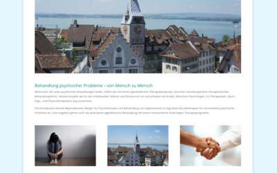 Webseite Medizinische Praxis Zug
