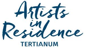 Schriftzug Artists in Residence