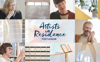 Conception visuelle et de communication pour «Artists in Residence»