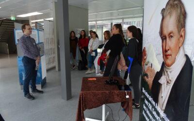 «Humboldt, der Weltvernetzer» – Vernissage in Schaffhausen für die neue mobile Ausstellung über Alexander von Humboldt