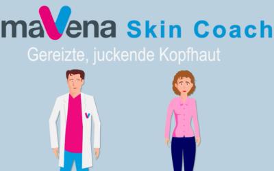 Mavena Skin Coach Erklärvideo zu Kopfhautproblemen