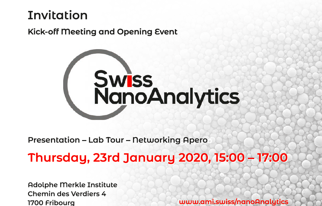 SwissNanoAnalytics Platform at the Adolphe Merkle Institute