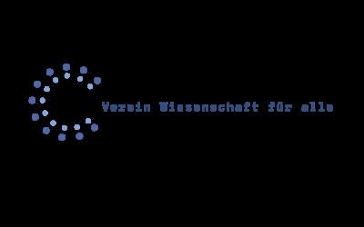 Webauftritt für den Verein Wissenschaft für alle