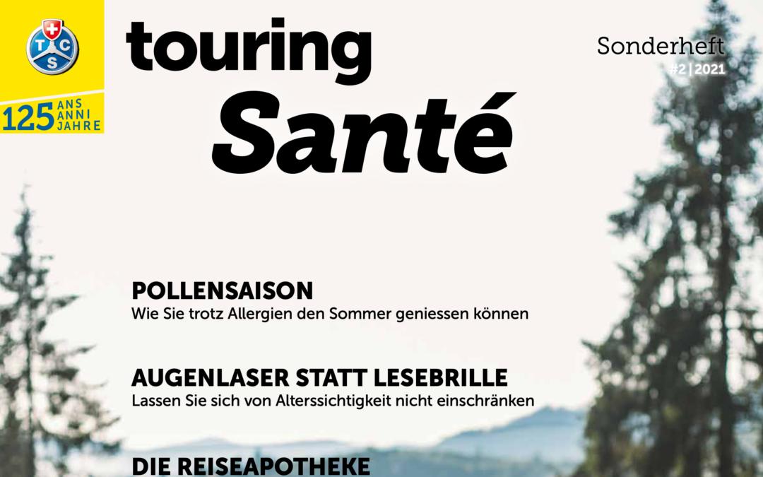 Sonderbeilage «Santé» – Touring Club Schweiz