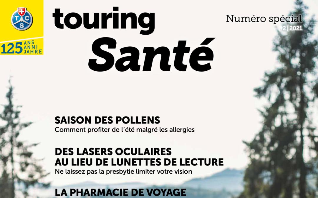 """Le supplément spécial """"Santé"""" – Touring Club Suisse"""